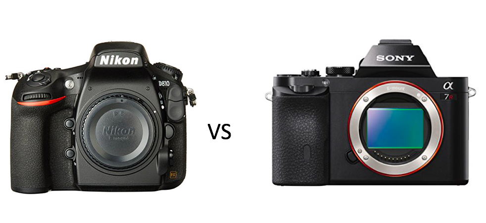 Which Full Frame is the Best? The Nikon 810 or the Sony A7r? - The ...